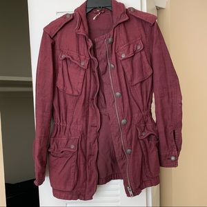 Free People Not Your Brothers Utility Jacket
